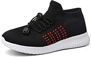 XiXiHao Men's 8806 Fitness Sport Shoes Comfortable Running Mesh Streetwear Breathable Knit Lace Summer Shoes Ultralight Sneakers for Woman Jogging Shoes 2018