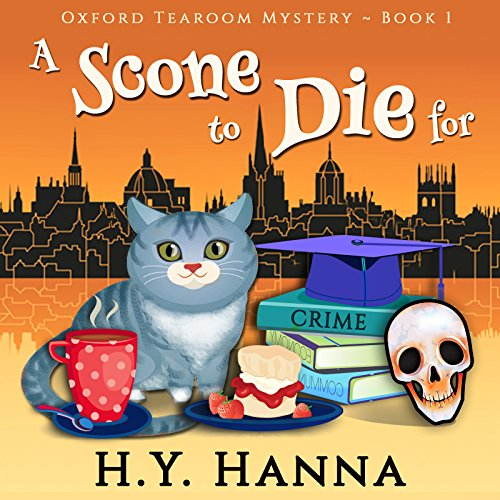 A Scone to Die For audiobook cover art