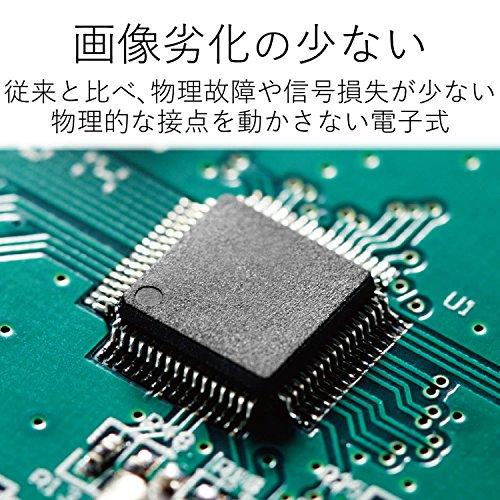 ELECOM(エレコム)『HDMI切替器(DH-SW31BK/E)』