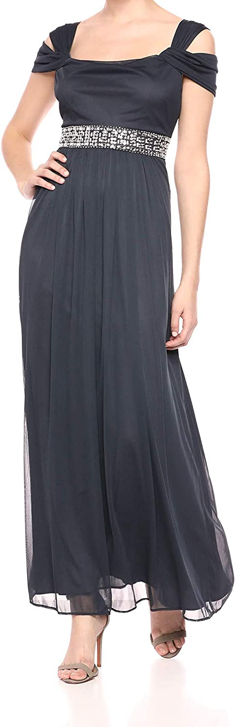 Alex Evenings Women's Long Spring new work one after another Cold Max 86% OFF Shoulder Regul Dress and Petite