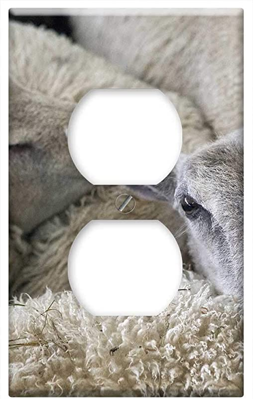 Switch Plate Outlet Cover Sheep Lambs Farm Animal Agriculture Livestock