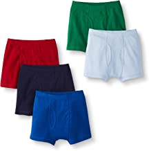 Hanna Andersson Boys Boxer Briefs in Organic Cotton, 5-Pack