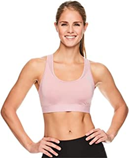 Reebok Women's Wireless Racerback Sports Bra - Medium Impact Bralette w/Keyhole Cutout