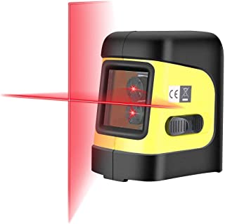 Firecore F112R Self-Leveling Horizontal/Vertical Cross Line Laser with Magnetic Bracket