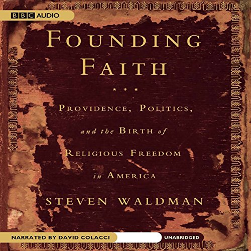 Founding Faith audiobook cover art
