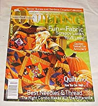 American Patchwork & Quilting October 2006 Issue 82 (Better Homes and Gardens Creative Collection) Magazine