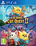"""This """"paw some Pack"""" Includes Cat quest and Cat quest II for a multitude of adventures - Featuring a Reversible cover with bespoke Cat quest 2 artwork on the back! brand new story set in the world of Felingard - and beyond! Telling the tail of two ki..."""