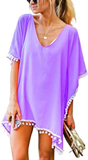52f1404fa2d93 Amazon.com: Purples - Cover-Ups / Swimsuits & Cover Ups: Clothing ...