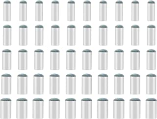 SAVITA 50 Pieces Assorted Pool Billiard Cue Tips Pool Stick Tips Replacements Compatible with 9mm, 10mm, 11mm, 12mm, 13mm Cue Tips