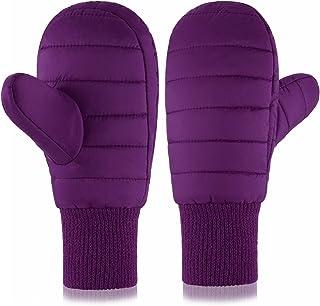 Purple Girls Waterproof Fleece Mitten
