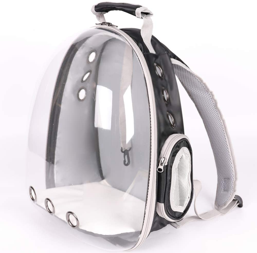 Lyn's Pet Carrier Hard-Sided Bag Bubble Cat Charlotte Mall We OFFer at cheap prices Backpack Dog