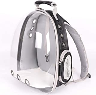 Lyn's Pet Carrier, Hard-Sided Pet Bag, Cat/Dog Bubble Backpack, Pet Travel Bag, Small Space Pet Capsule Knapsack, Waterproof Breathable Pet Carrier Airline Approved