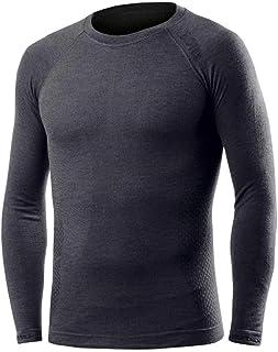 705567var - camiseta interior manga larga merino COLOR GRIS TALLA M
