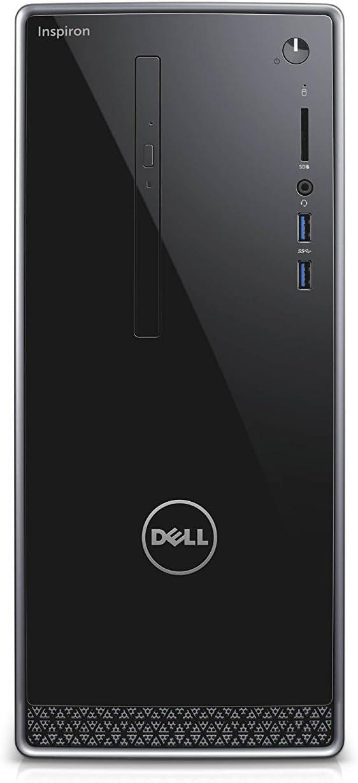 Dell Inspiron 3268 Intel Core i3-7100 X2 3.9GHz 4GB 1TB Win10,Black(Certified Refurbished)
