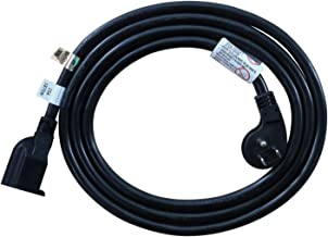 FIRMERST 6 Feet 1875W Low Profile Flat Plug Extension Cord 14 AWG Black UL Listed