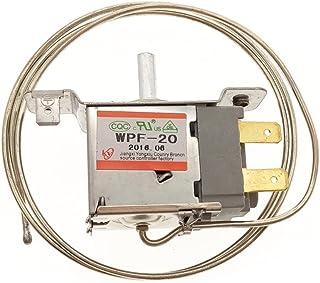 2 Pin WPF-20 Terminals Freezer Refrigerator Thermostat with Metal Cord  PE