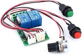 6V 12V 24V DC 3A DC Motor velocidad controlador (PWM) velocidad ajustable Interruptor Reversible DC Motor Driver marcha atrás