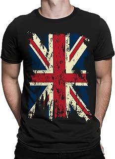 Vintage Distressed Great Britain Flag Men's T-Shirt