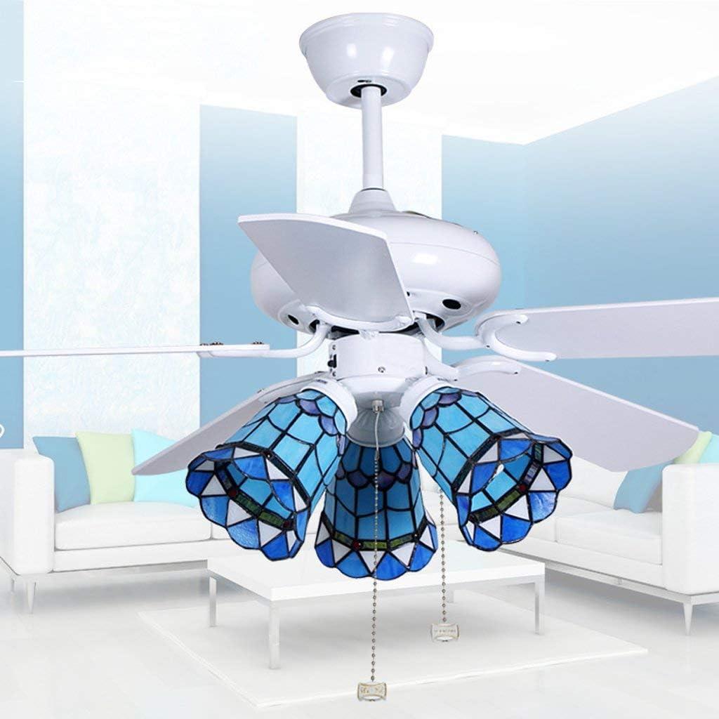 XXLYY Ventilador de Techo de Restaurante de 42 Pulgadas, lámpara de Ventilador de Sombra, Ventilador de Hoja de Madera, Ventilador Moderno de Moda Simple