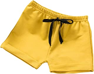 Toddler Baby Boys Girls Solid Color Summer Sport Jogger Active Shorts Pants
