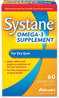 Alcon Systane Vitamin Omega-3 Healthy Tears 60 Softgel