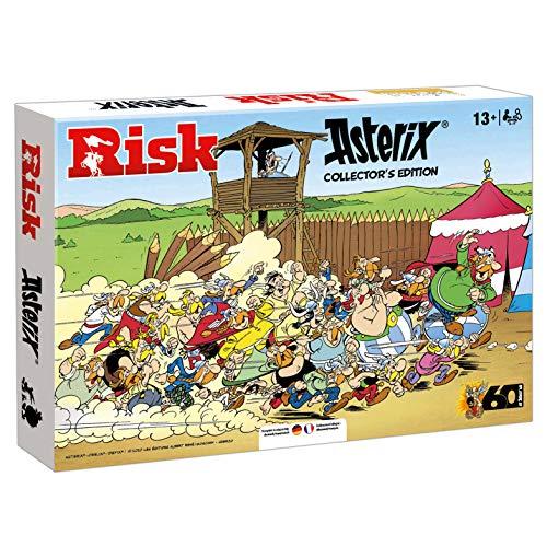 Winning Moves Risiko Asterix - Limited Collector Edition | Das beliebte Familienspiel und Gesellschaftsspiel für Erwachsene und Kinder - Ab 13 Jahren für 2-5 Spieler