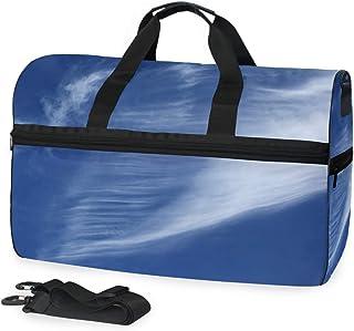 MONTOJ Reisetasche aus Segeltuch, Übergröße, Dunkelblau