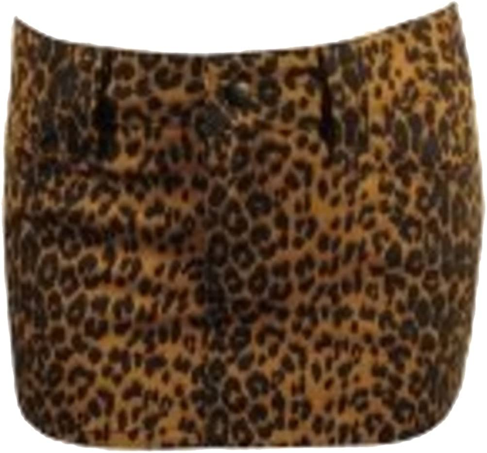 Switchblade Stiletto Cash special price Now free shipping Rebel Mini Leopard Skirt-