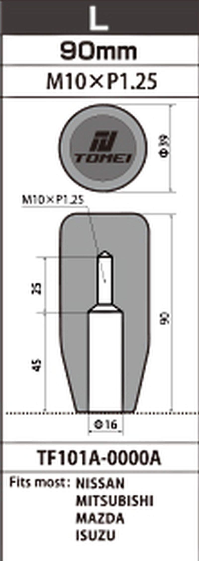 Tomei Shift Knob Long 90mm