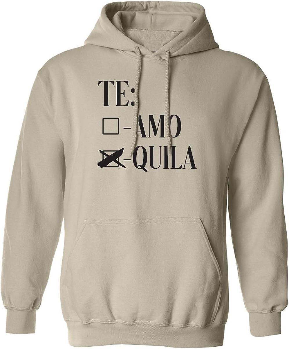 Te Amo Quila Adult Hooded Sweatshirt