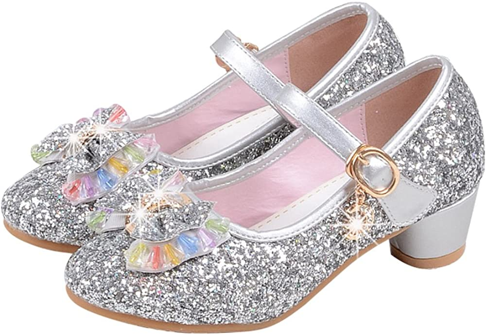 Manka Max Recommended 45% OFF Vesa Girl's Princess Cosplay Dre Performance Sequins Shoes