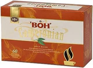 Gift BOH Cameronian Premium Black Tea Bags Gold Blend (60 count) High Caffeine Blend, Tea, Black Coffee Substitute, Smooth Flavor & Rich Aromatic (4.2 oz)