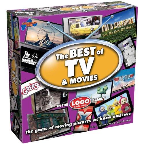Drumond Park Brettspiel Best of TV and Movies, englische Version