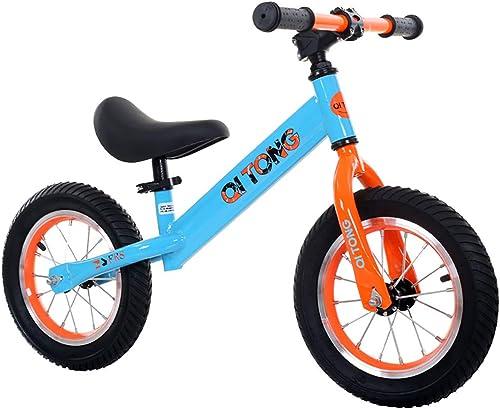 mejor moda WANGPIPI Bicicleta Infantil,Estructura De Acero Al Carbono De Alta Resistencia Resistencia Resistencia Sin Pedal Diseño De Seguridad Manillar y Sillín Regulables en Altura Opcional  bienvenido a elegir