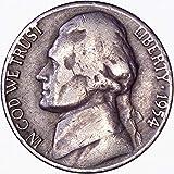 1954 D Jefferson Nickel 5C Very Fine