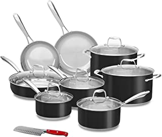 kitchenaid 14 pc cookware set