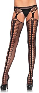 Leg Avenue Women's Hosiery Suspender Fishnet Stockings