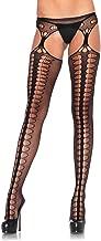 Leg Avenue Women's Hosiery Suspender Fishnet Stockings