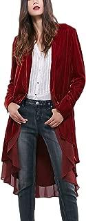 Best red velvet pirate coat Reviews