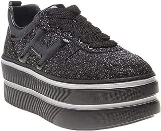 HOGAN Grande Stack Womens Sneakers Black