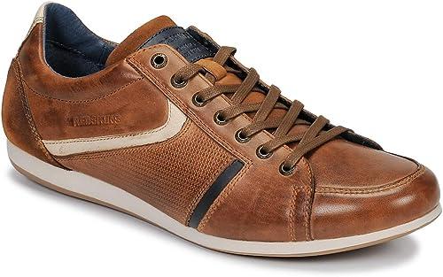 rougeskins Chaussures Chaussures paniers en Cuir Wast 2 Cognac Beige  la meilleure offre de magasin en ligne