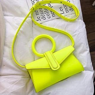 SHYPT Tout Match d'épaule Messenger Sac à bandoulière Sac à Main Lady Ladies Messenger Sac à Main de Mode (Color : B)