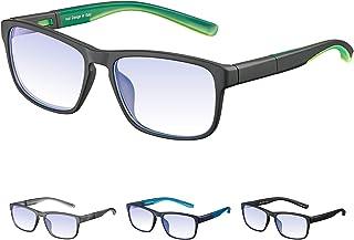 2da045bee7 Rezi Gafas de ordenador Gafas Lectura para Protección contra Luz Azul -  Alta Protección para Pantalla