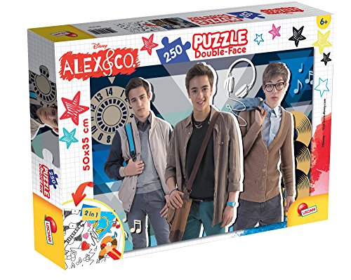 Lisciani spel 57191 – puzzel DF Plus 250 Alex & Co Best Friends