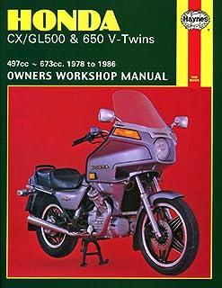 Haynes Manual 442 HON CX500 V TWIN