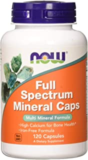 Now Foods Full Spectrum Mineral Standard - 120 Cápsulas