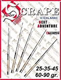 Scrape-Colmic Next Adventure 25-35-45 2.70 m 25 g 3 Pipes Feeder Rute Fishing Angeln im Fluss See Meer Teleskopische -