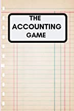 THE ACCOUNTING GAME: Simple Balance sheet or Cash Book Accounts Bookkeeping Journal for Small and big Businesses | Log, Track, & Record Expenses & Income