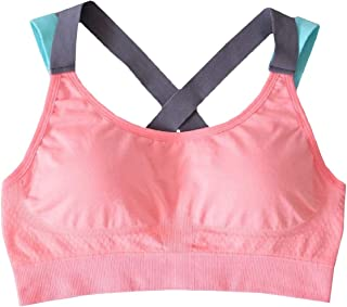 Howme-Women Cross Back Beauty Back Fast Dry Vest High Impact Stretchy Yoga Bras