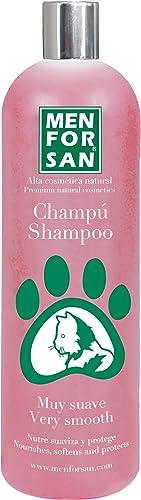 Menforsan Champú muy suave para gatos, Nutre, suaviza y protege el pelaje